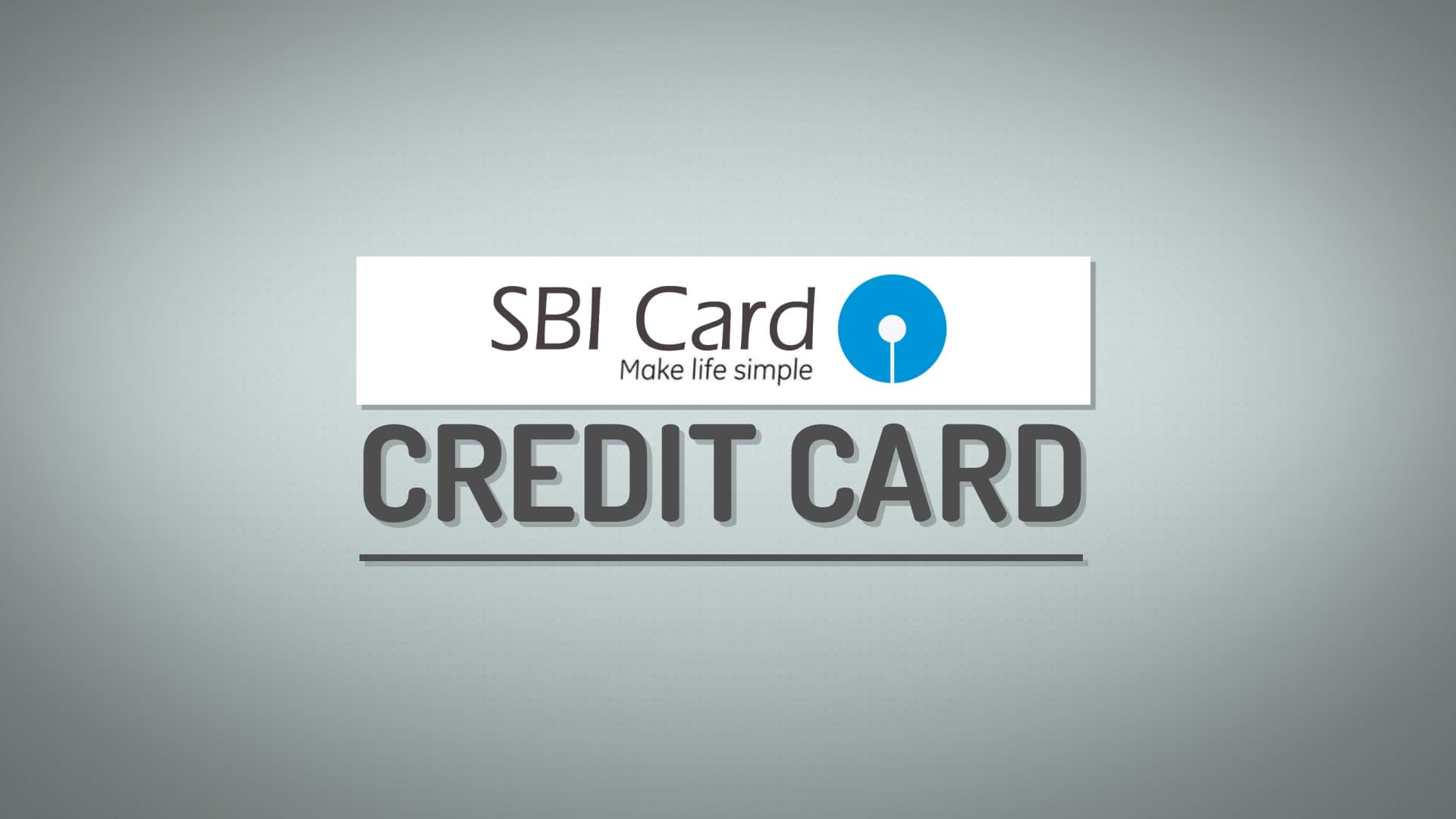 SBI credit Card