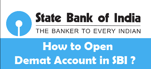 open demat account in sbi